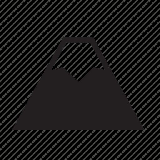 fuji, japan, mount, mountain, nature, snow, volcano icon