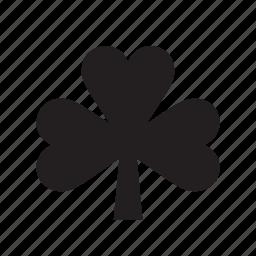 clover, leaf, nature, sahmrock, trefoil icon