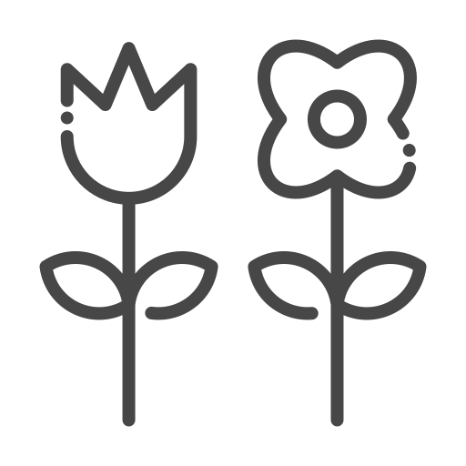 eco, ecology, flower, nature, organic icon