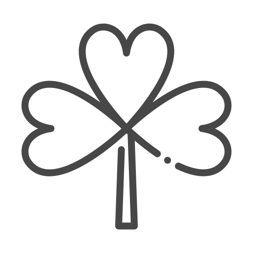 clover, eco, ecology, nature, organic icon