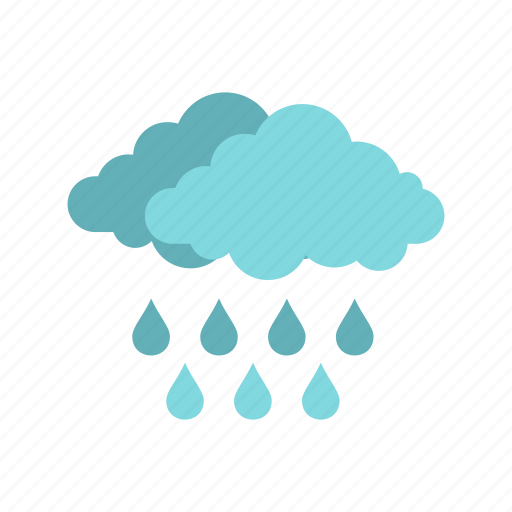 climate, cloud, drop, meteorology, rain, sky, weather icon