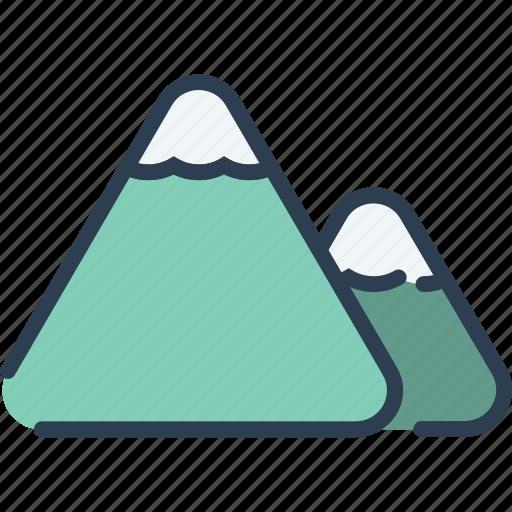 climb, hiking, mount, mountain, nature icon