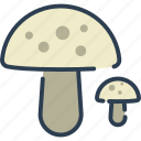 ecology, fungi, mushroom, nature, plant icon