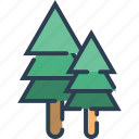 chrismast, ecology, leaf, nature, plant, tree icon