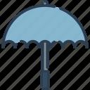 protection, rain, sun, weather icon