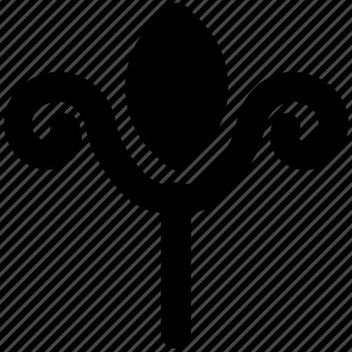 decorative flower, fanoos flower, floral bells, floral design, stems flower, vine flower icon