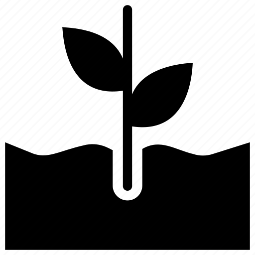 fertilization, leaves, plant growth, plantation icon