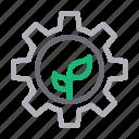 eco, energy, gear, plant, power
