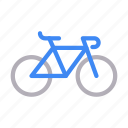 bike, cycle, exercise, transport, travel icon