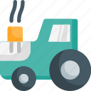 farm, tractor, transport, vehicle