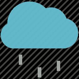 atmosphere, cloud, rain, raindrops, raining, rainy, weather icon