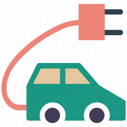 car, charging car, charging vehicle, electric car icon