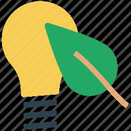 bulb light, eco, eco bulb, environment, green, light icon