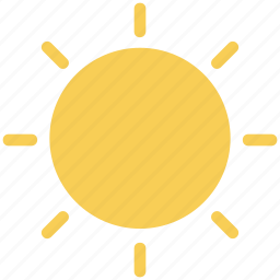 hot weather, sun, sunlight, sunny, sunshine, warm, weather icon