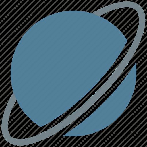 astronomy, cosmos, explore, explorer, gas, giant, nasa, planet, saturn, space icon