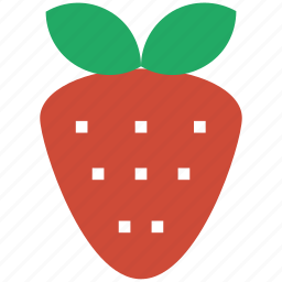 food, fragaria, fresh fruit, fruit, garden strawberry, strawberry icon