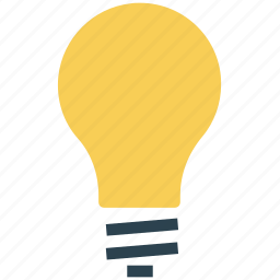 bright, bulb, concept, electrical light, lamp, light icon