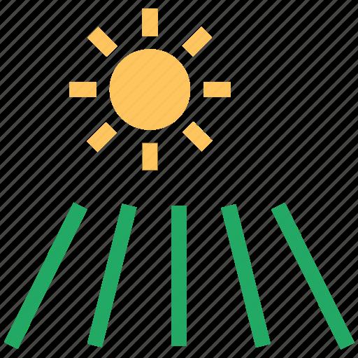 morning, morning nature, sunlight, sunrise, sunshine icon