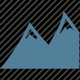 climbing, landscape, mountain, nature icon