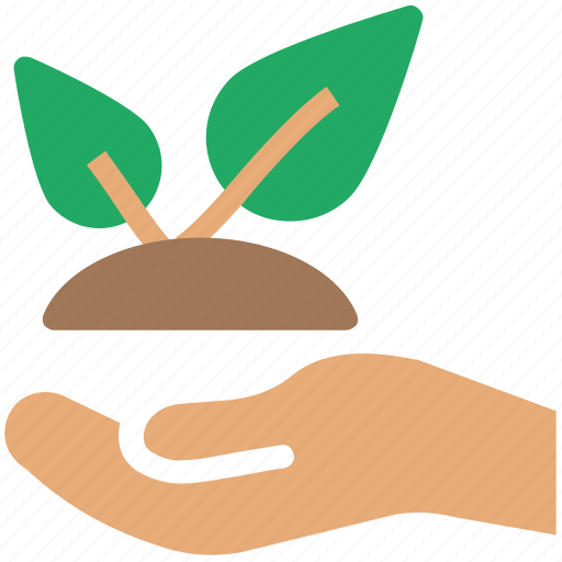 agriculture, bio, eco, ecology, environment, hand leaf, plant, protection icon
