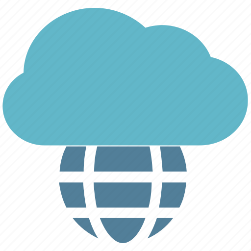 cloud, cloud world, connection, glob cloudy, globe, globe and cloud, world wide icon
