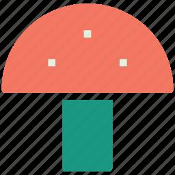 amanita, fresh fruit, fruity body, fungus, mushroom, mushroom vegetable, toadstool icon