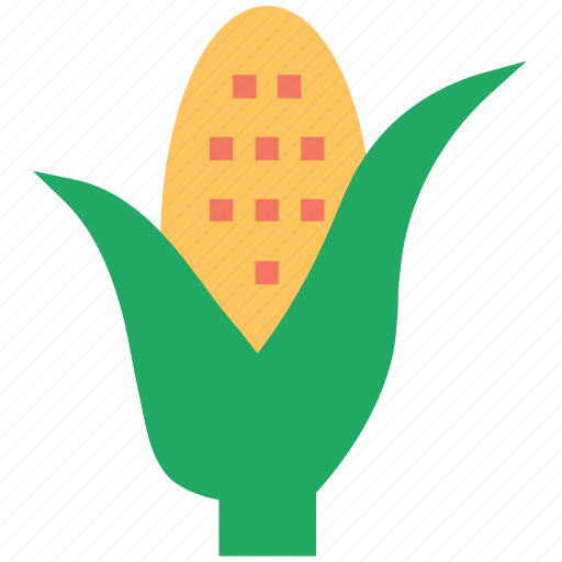 agriculture, corn, ecology, food, kernel, maize, plant icon