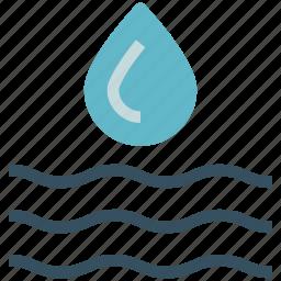 blood drop, clear drop, drop, dropping, rain drop, water drop icon