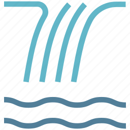 lake, moisture, nautical, river, sea, tide, water, water waves, waves icon
