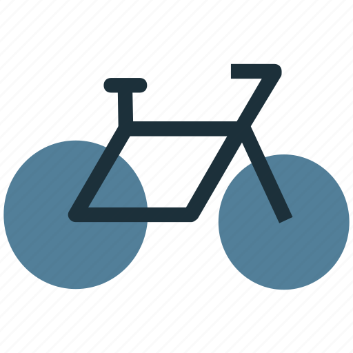 bicycling, biking, cycling, cyclist, exercise, riding icon