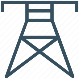 antenna, electricity, electricity tower, radio, tower, wire tower icon