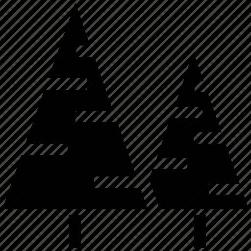 christmas tree, eco tree, ecology, evergreen, fir, fir tree, spruce icon