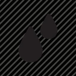 drops, eco, fall, nature, rain, water icon