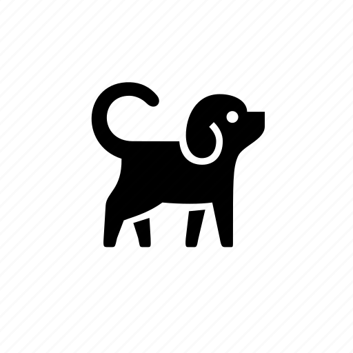 animal, canine, cute, dog, little, nature, pet icon