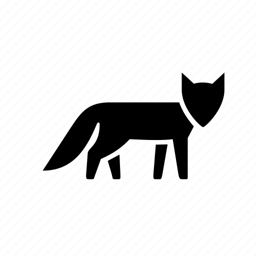 alert, animal, clever, forest, fox, nature, wild icon