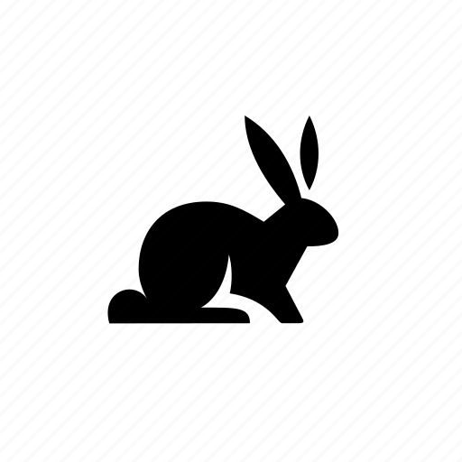 alert, animal, bunny, easter, hare, nature, rabbit icon
