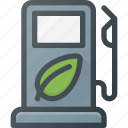 bio, eco, gas, station icon