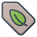 bio, eco, tag icon
