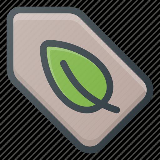 bio, eco, tag icon