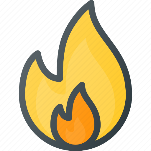 burn, fire, flame icon
