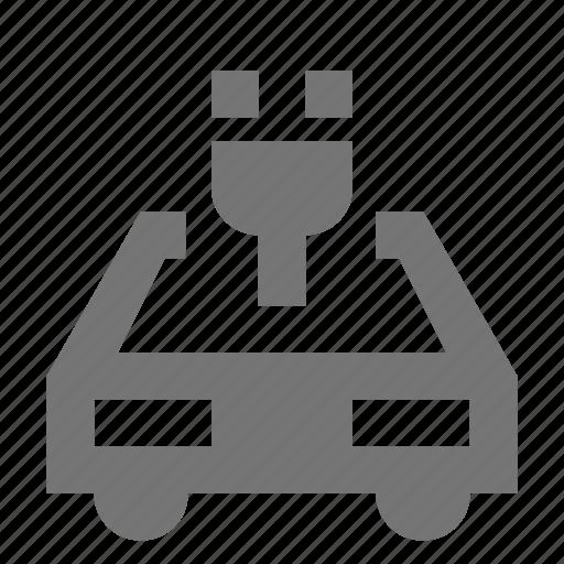 car, electric, plug, transportation icon