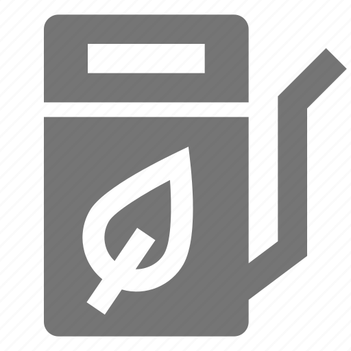 fuel, gas, leaf, nature, plant, pump icon