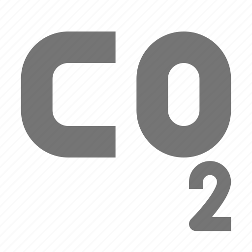 carbon, carbon dioxide, nature icon