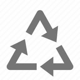 arrows, recycle, sign icon