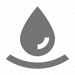 drop, droplet, water icon