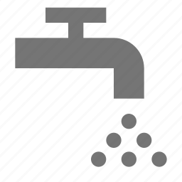 sink, tap, water icon