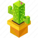 cactus, eco, ecology, elements, environment, nature icon