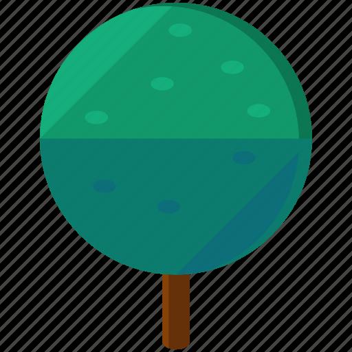 circle, ecology, element, elements, nature, tree icon