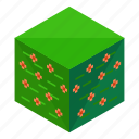 bush, ecology, element, elements, floral, nature, square icon