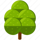 eco, ecology, elements, nature, park, tree icon